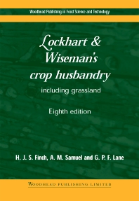 Cover image for Lockhart and Wiseman's Crop Husbandry Including Grassland