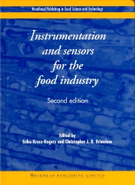 Cover image for Instrumentation and Sensors for the Food Industry