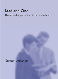 Lead and Zinc - 1st Edition - ISBN: 9781855735934, 9781855738737