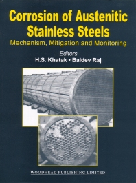 Cover image for Corrosion of Austenitic Stainless Steels