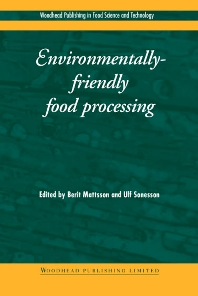 Cover image for Environmentally-Friendly Food Processing