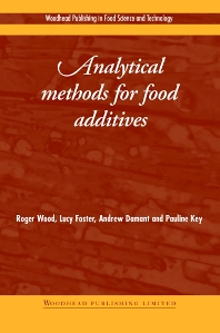 Cover image for Analytical Methods for Food Additives