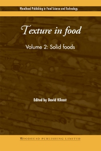 Texture in Food - 1st Edition - ISBN: 9781855737242, 9781855738362