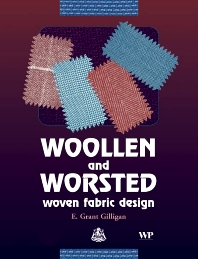 Cover image for Woollen and Worsted Woven Fabric Design
