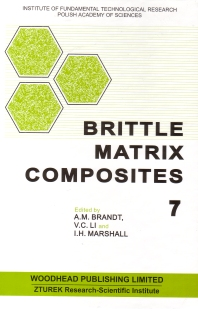 Cover image for Brittle Matrix Composites 7