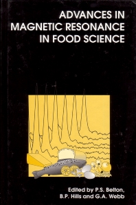 Cover image for Advances in Magnetic Resonance in Food Science