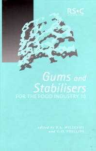 Cover image for Gums and Stabilisers for the Food Industry 10