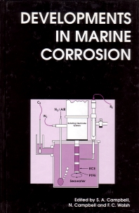Cover image for Developments in Marine Corrosion