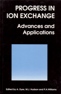 Progress in Ion Exchange - 1st Edition - ISBN: 9781855738287, 9781845698652