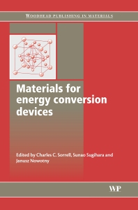 Materials for Energy Conversion Devices - 1st Edition - ISBN: 9781855739321, 9781845690915