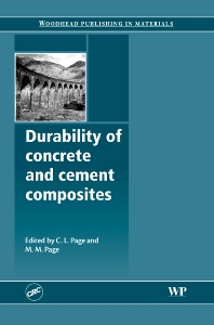 Cover image for Durability of Concrete and Cement Composites