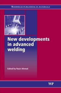 Cover image for New Developments in Advanced Welding