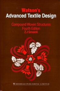 Cover image for Watson's Advanced Textile Design