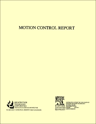 Motion Control Report - 1st Edition - ISBN: 9781856170482, 9781483284958