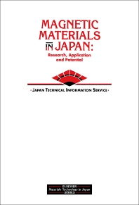 Magnetic Materials in Japan - 1st Edition - ISBN: 9781856170772, 9781483293998
