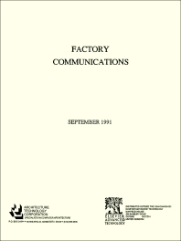 Factory Communications - 1st Edition - ISBN: 9781856171137, 9781483294988