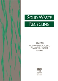 Cover image for Municipal Solid Waste Recycling in Western Europe to 1996