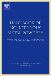 Handbook of Non-Ferrous Metal Powders - 1st Edition - ISBN: 9781856174220, 9780080559407