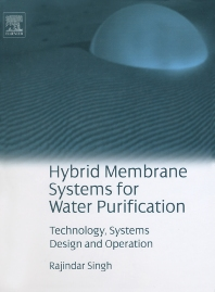 Cover image for Hybrid Membrane Systems for Water Purification