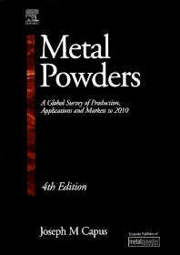 Metal Powders - 4th Edition - ISBN: 9781856174794, 9780080536323