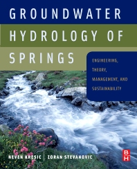 Cover image for Groundwater Hydrology of Springs