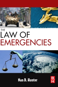 The Law of Emergencies, 1st Edition,Nan Hunter,ISBN9781856175470
