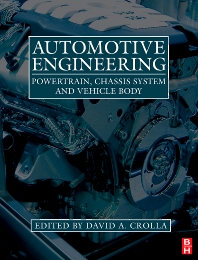 Automotive Engineering , 1st Edition,David Crolla,ISBN9781856175777