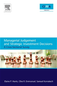 Cover image for Managerial Judgement and Strategic Investment Decisions