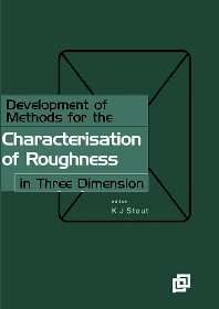 Cover image for Development of Methods for Characterisation of Roughness in Three Dimensions