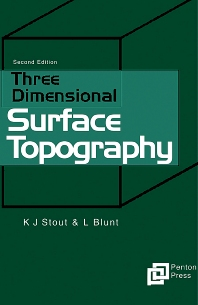 Cover image for Three Dimensional Surface Topography