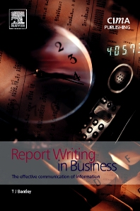 Report Writing in Business - 2nd Edition - ISBN: 9781859715161, 9780080574837