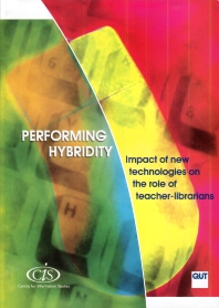 Cover image for Performing Hybridity