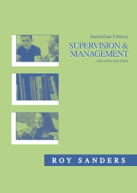 Cover image for Australian Library Supervision and Management
