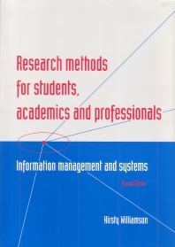 Cover image for Research Methods for Students, Academics and Professionals