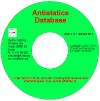 Antistatics Database, 2nd Edition,George Wypych,ISBN9781895198591