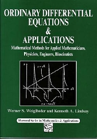 Cover image for Ordinary Differential Equations and Applications