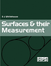 Surfaces and their Measurement - 1st Edition - ISBN: 9781903996010, 9780080518237