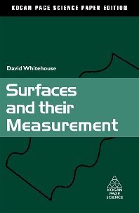 Surfaces and their Measurement, 1st Edition,David Whitehouse,ISBN9781903996607