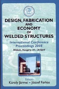 Cover image for Design, Fabrication and Economy of Welded Structures