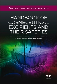 Handbook of Cosmeceutical Excipients and their Safeties - 1st Edition - ISBN: 9781907568534, 9781908818713