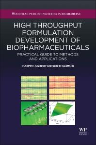 Cover image for High-Throughput Formulation Development of Biopharmaceuticals