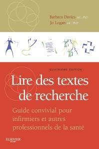 Cover image for Lire des textes de recherche