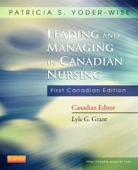 Cover image for Leading and Managing in Canadian Nursing