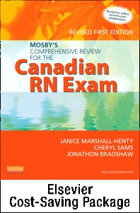 Mosby's Comprehensive Review for the Canadian RN Exam - Revised + Mosby's Prep Guide for the Canadian RN Exam 2e Package
