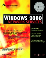 Cover image for Managing Windows 2000 Network Services