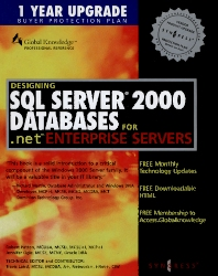 Cover image for Designing SQL Server 2000 Databases
