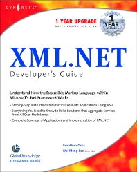 XML Net Developers Guide - 1st Edition - ISBN: 9781928994473, 9780080481814