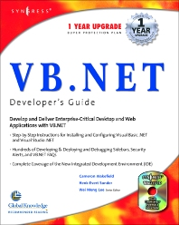 VB.Net Web Developer's Guide - 1st Edition - ISBN: 9781928994480, 9780080481593