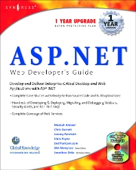 ASP.Net Web Developer's Guide - 1st Edition - ISBN: 9781928994510, 9780080475943