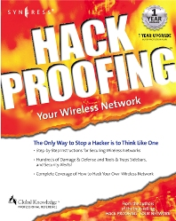 Hackproofing Your Wireless Network - 1st Edition - ISBN: 9781928994596, 9780080478180